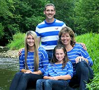 Greg and Family