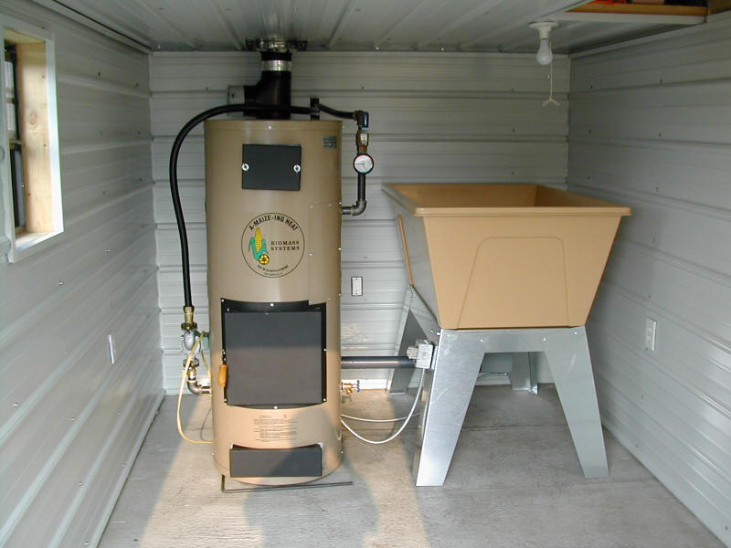 American Water Heater Company STOVES | CORN AND WOOD OUTDOOR STOVES