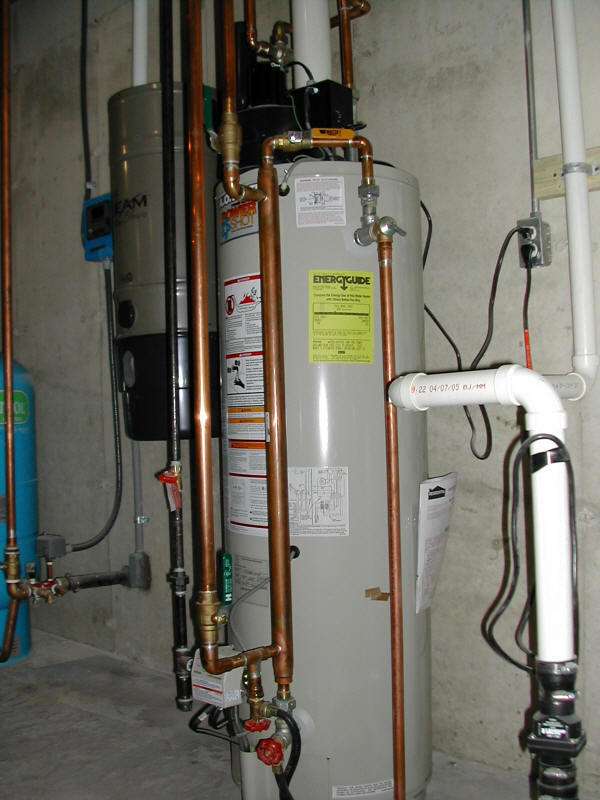 Hot Water Heater Heat Exchanger Heat Domestic Hot Water