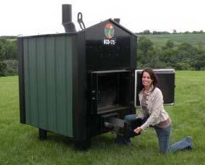 Homemade Outdoor Wood Boiler