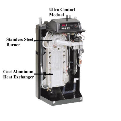 Photos Of Condensing Boiler Weil Mclain Ultra 230